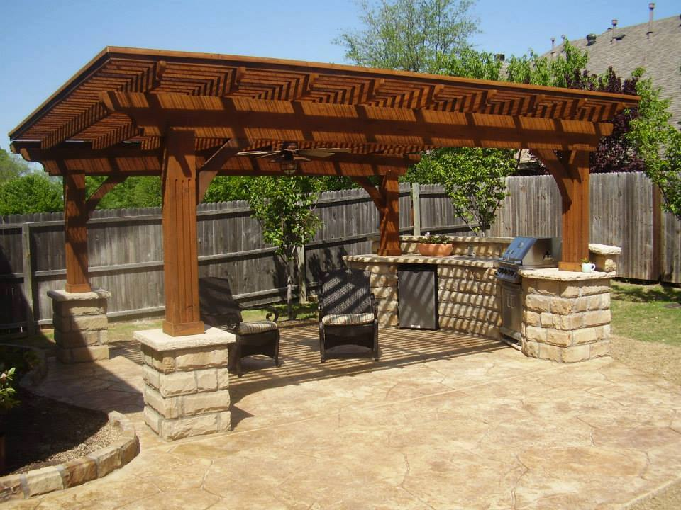 Outdoor Patio in DFW, Prosper Home Remodeling